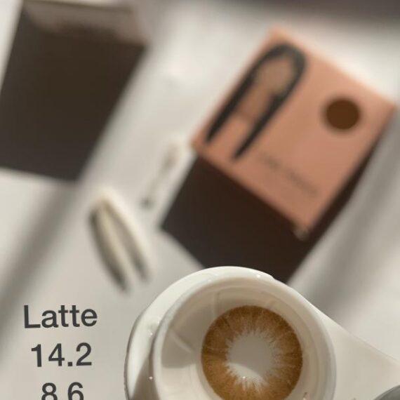 لنز لئوس قهوه ای روشن البا